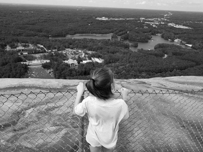On top of Stone Mountain Atlanta, Georgia Stone Mountain State Park Family EyeEm Selects Nature Outdoors One Person Day