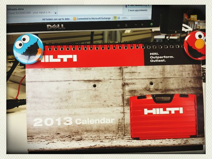 last day of working in 2013.. first full year with HILTI.. =)