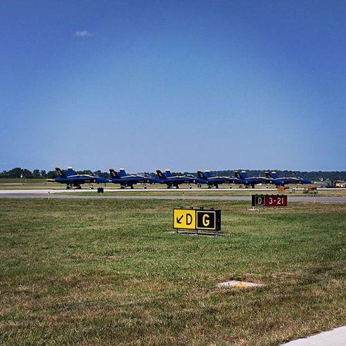 Blueangels F18hornets Greatshow Mkcdowntown