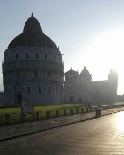 Travel Destinations Architecture No People Day Sky Outdoors Pisa, Italy Pisa Baptistery Pisa