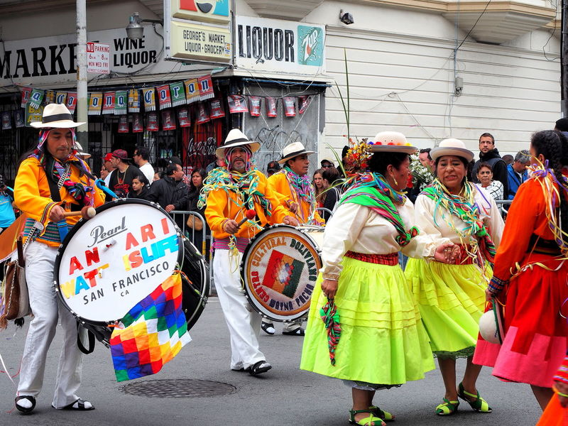 The famous Carnaval of 2015 in the Mission District in SF #carnaval AlwaysSF Missiondistrict SF