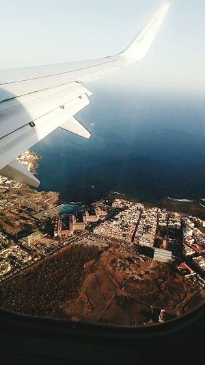 Flying High Wing Summer Blue Sky Sea