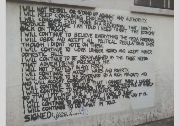 Visual Statements Streetphotography Streetart Mindcontrol