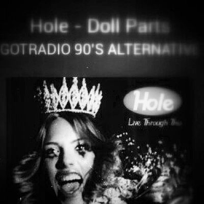 Hole Gotradio Tunein Radio print pretoebranco