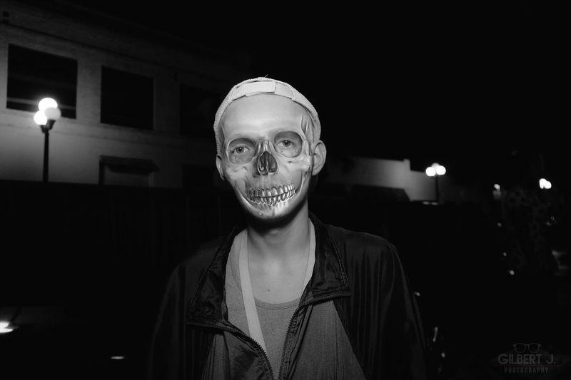 nolanSKULL B&w Street Photography Skull Composite Fashion Portrait Gilbert J. Photography B&W Portrait