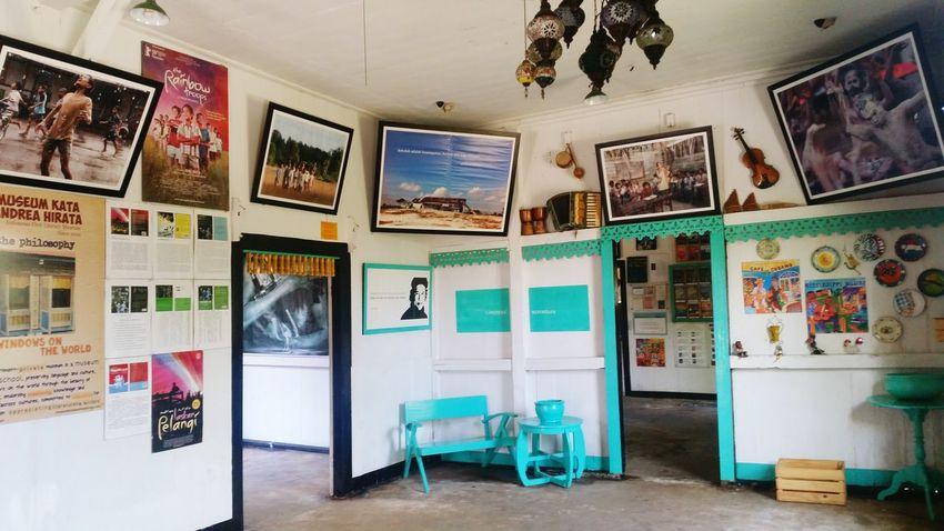 Museum Kata Andrea Hirata. 📃 Mission Indoors  Andrea Hirata Sastra Sastraindonesia Museum EyeEm Ready