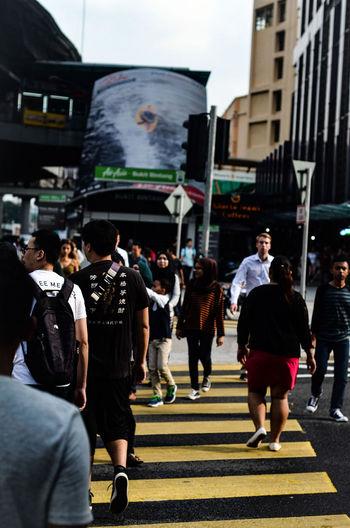 Kuala Lumpur Zebra Cross. #EyeEmNewHere #Road #busycity #citylife #humansofdream #photography #randomshoo #streetphotography
