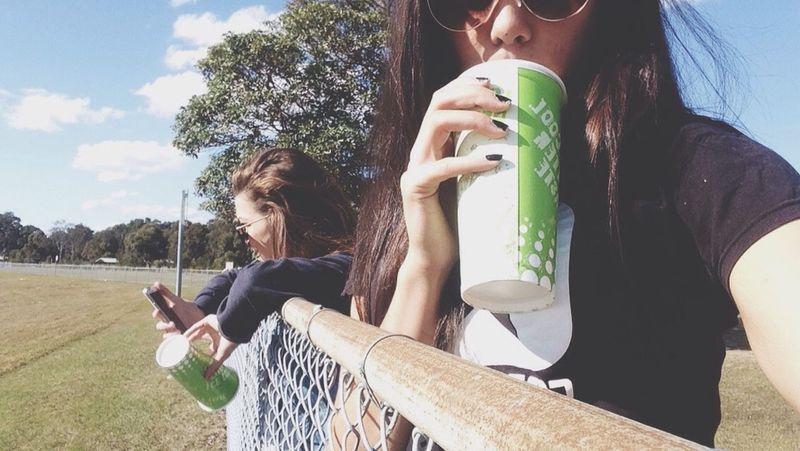 Ambi + milkshakes 👌 Milkshake♥ Friend Chicky Babe 💝 Enjoying Life Hello World Taking Photos Hanging Out Hi!