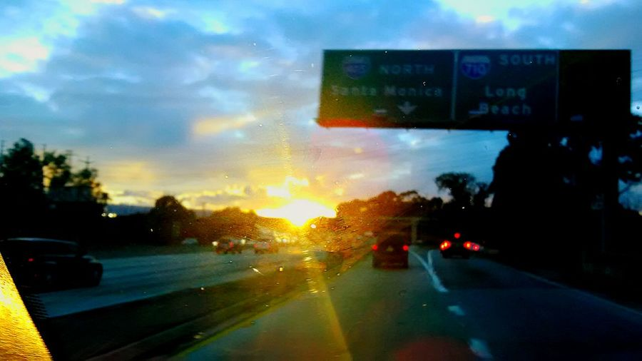 I Driving into the Sun Cloudy Sky 💙 Cloudy Opps Opps!! Good Bye Blue Sky Cloud - Sky Clouds And Sky Clear Sky Cloudporn Sunset And Drive Car Transportation Road Land Vehicle Outdoors No People Day City Sky