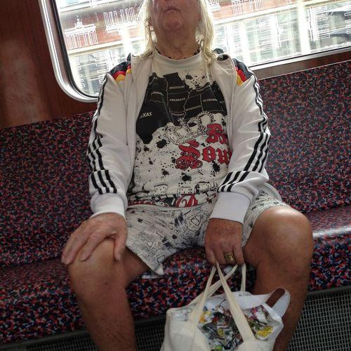 Fashion Proll Bvg Ubahn Berlin Deutscher