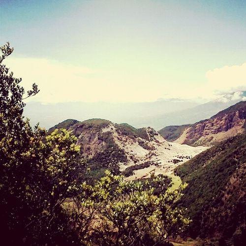 Papandayan mountain