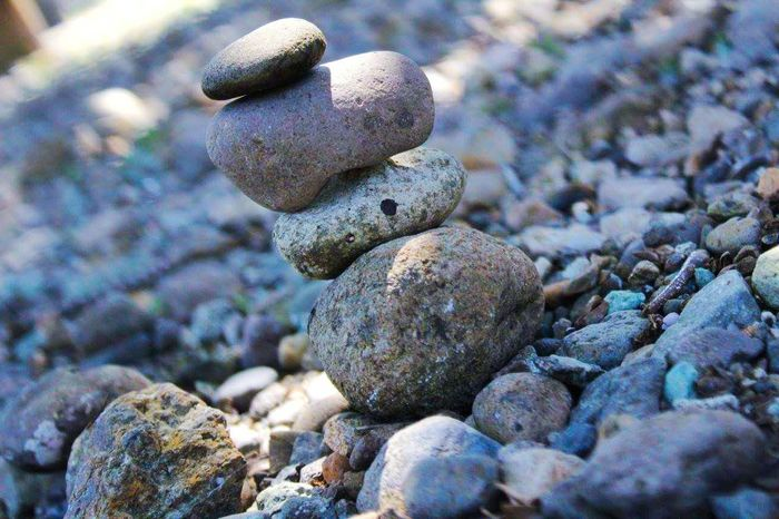 Stone - Object Stack Close-up Pebble Balance Rock - Object Beach No People Nature Outdoors Day