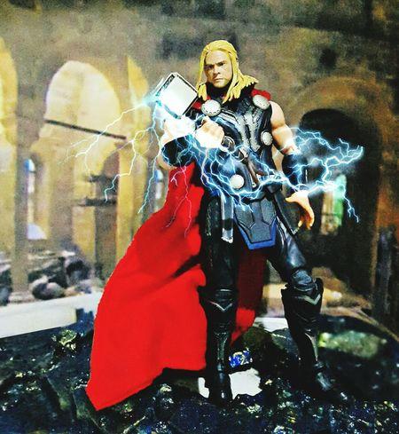 THOR GOD OF THUNDER Toyphotography Theavengers Actionfigures SHfiguarts Marvelmovies Thor  Shfiguartsphotography