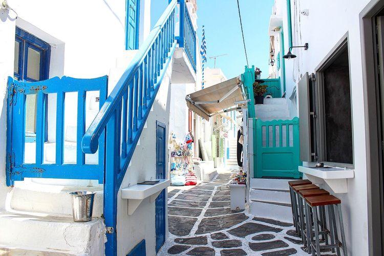 Mykonos Nofilter BYOPaper! Paradise Island Travel Life White Peace