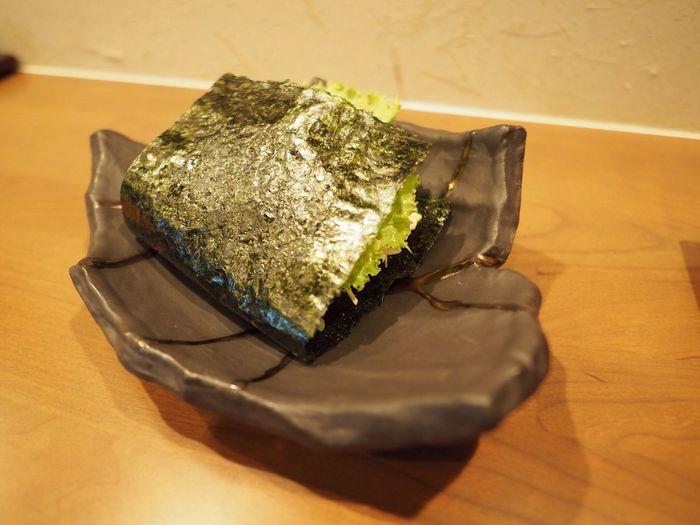 Kyoto Japan Kitayama Umamihitotsu Rice Sand KurogeWagyu Rice Egg Night Japanese Food Olympus PEN-F 京都 日本 北山 京都下鴨 旨味ひとつ らいすサンド 黒毛和牛 米 夜