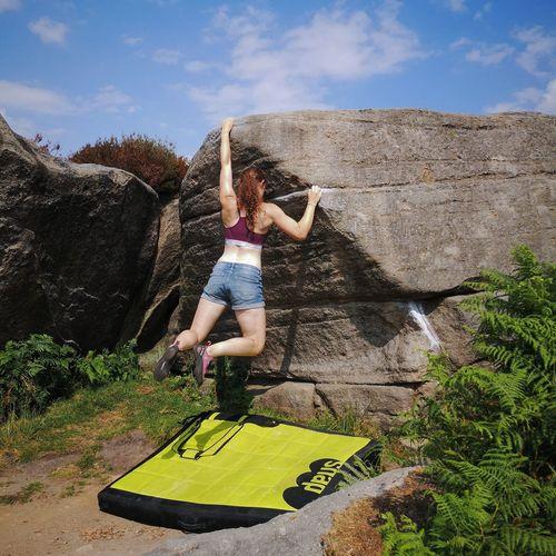 Bouldering Girl
