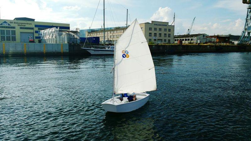 Opti Sail Sailing Sail Segeln Segelboot Opti Baltic Sea Ostsee Wismar Lieblingsteil