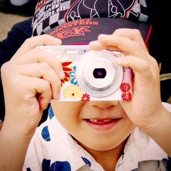 Camera Child Nephew  カメラ 甥っ子 子供