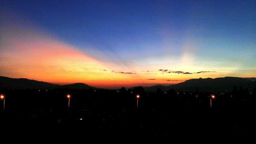Clouds Amazing View Beautiful Sunset Ethiopia