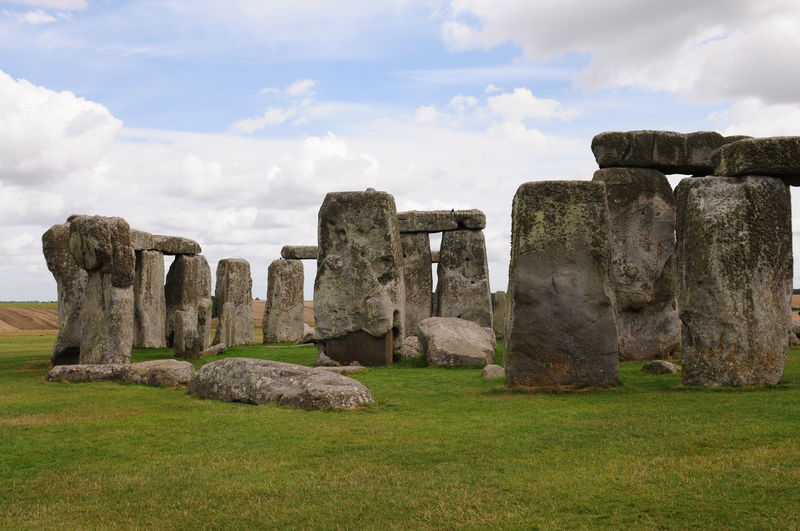 Stonehenge against sky