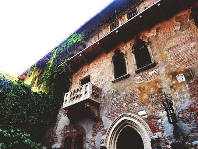Verona City Of Love♡ Romeo And Juliet Balcony