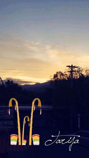 Sunset No People Beauty In Nature Travel Destinations Chura Tarija