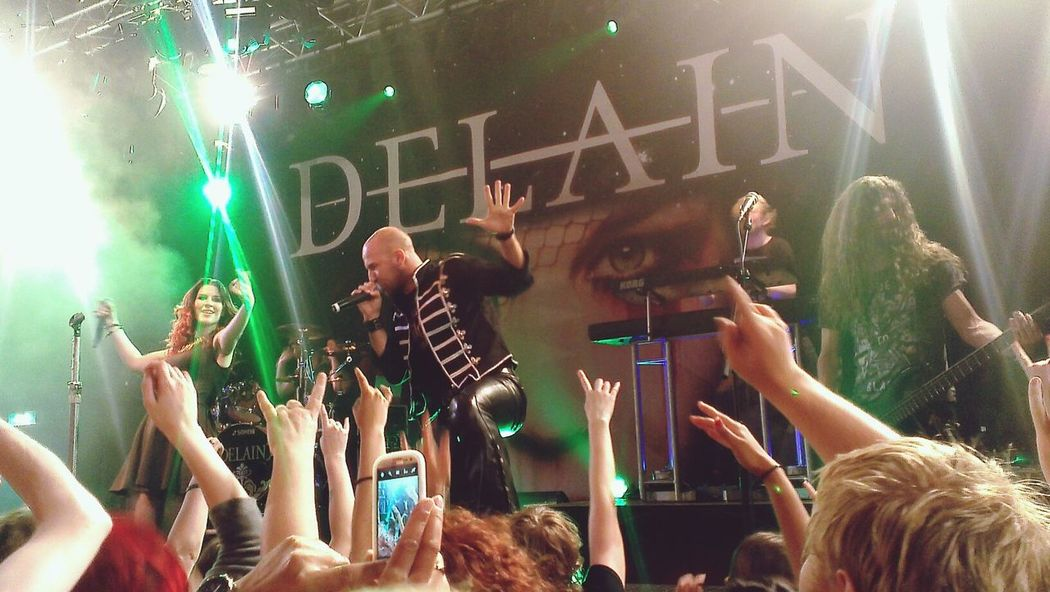 Delain with Georg from Serenity Delain Serenity Live Music Concert