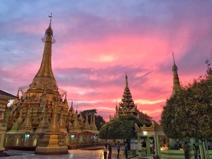 Sundown @Monywa Myanmar