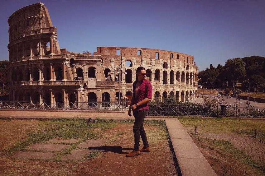 Fashion Rome Colosseo Mensfashion