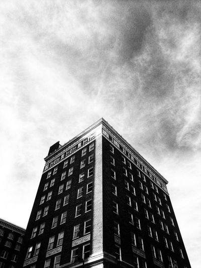 Light line Architecture Building Building Exterior Built Structure City Cloud - Sky Day Low Angle View No People Office Office Building Exterior Outdoors Overcast Sky Tall - High