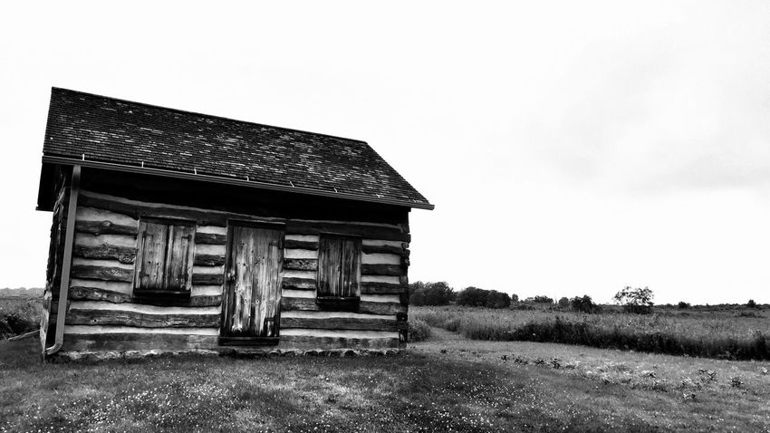 Prairie Scenes Abandoned Architecture Building Building Exterior Built Structure Cabin Cottage Day Deterioration Field Grass House Land Landscape Nature No People Obsolete Old Outdoors Plant Prairie Roof Rural Scene Sky