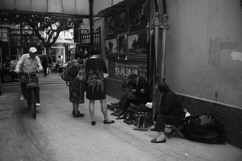 Sony A7 Leica Summicron 35 Shanghai Blackandwhite#stre