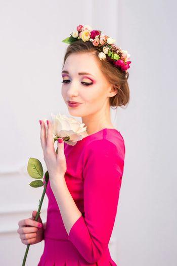 Gerl Make Up Russian Portrait Butiful