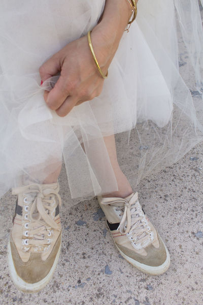 I love sneakers #NotYourCliche Bride Close-up Fashion Human Body Part Human Hand Human Leg Low Section Out Of The Box Shoe Sneakers White Women