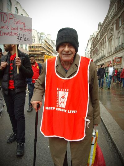 London May Day Protest. 01-04-2017 Keep Music Live Steve Merrick May Day 2017 London News Stevesevilempire Photo Journalism Olympus Protesters May Day London Zuiko Protest