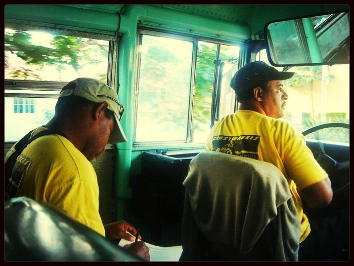 People at work - Driving the bus to Chavon river - Dominican Republic People EyeEm Best Shots The Human Condition