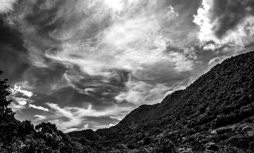 Cloudy Day Traveling Nature Mountains Outside Landscape Trees Travel Mexico Forest Landscapes Canyon Clouds Weather Cloudy Mountain Blackandwhite Monochrome Countryside Valley Orizaba Mountain Range