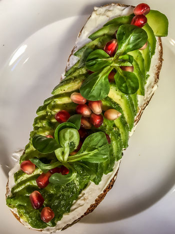 -- Avo Morning Smile -- Avocado Avocado Pomagranate Avocado Toast  Breakfast Clean Eating Close-up Crunchy Bread Eat Clean Food Food And Drink Food Closeup Food Presentation Fresh Bread Freshness Fruit And Vegetable Green Green Green!  Healthy Breakfast Healthy Eating Healthy Eats Healthy Food Healthy Lifestyle Healthy Lunch Labneh Pomagranate Sandwich To Go