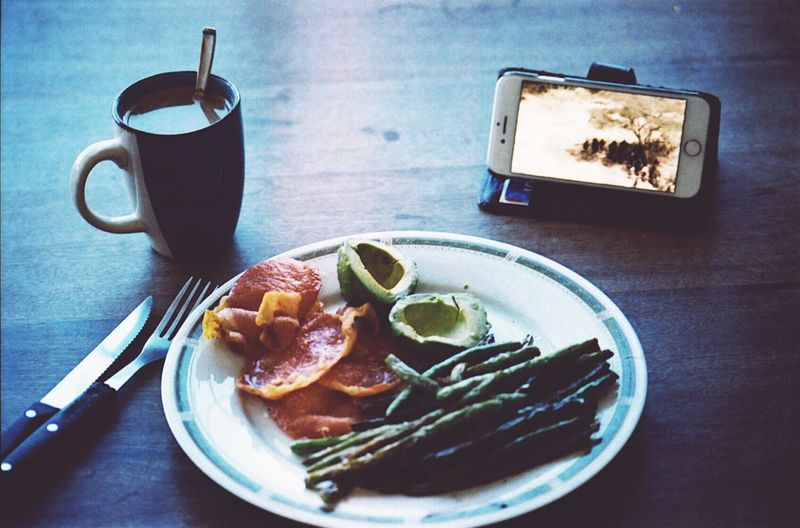 Breakfast Breakfast Coffee Morning Indoors  Eyemarket Film 35mm Film Kodak Portra