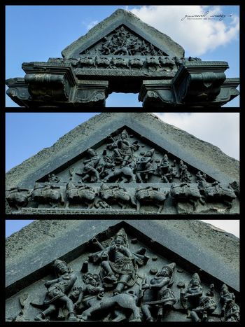 Indian Stone Carving 800years ago on Indian Temples Warangal