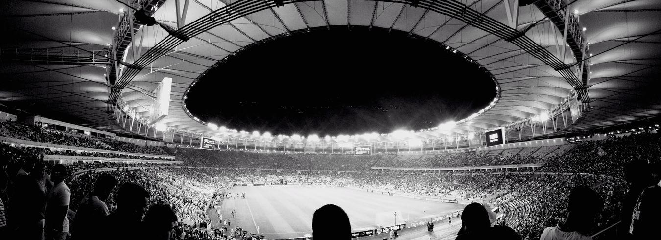 Maracana Stadium Riodejaneiro Futebol Brazilian Brazil
