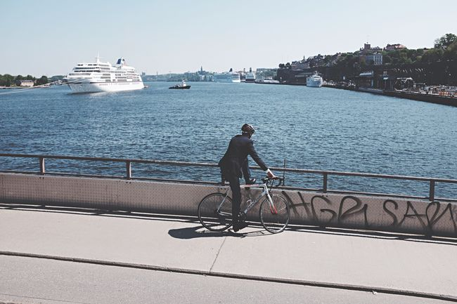 Stockholm Bridge Bicycle