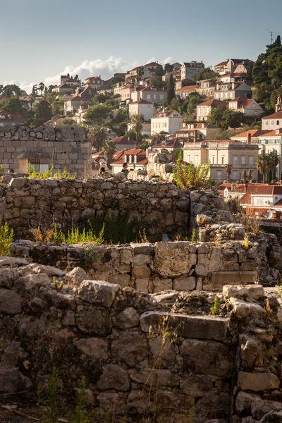 #croatia #dubrovnik Ancient Architecture Building Exterior Built Structure Castle History Old Ruin Outdoors
