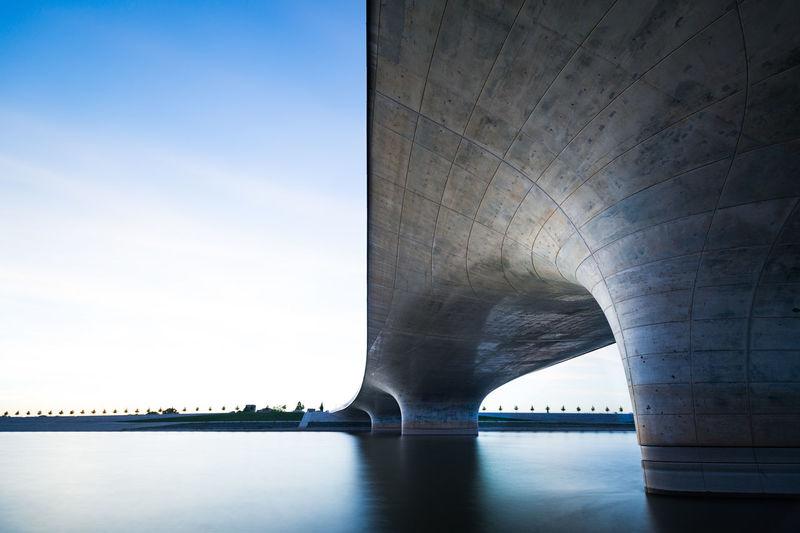 Bridge Long Exposure Longexposure Nevengeul Nijmegen River Waal Waalbrug Nijmegen Water Waterfront