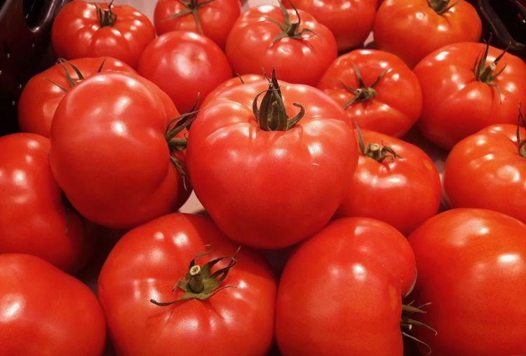 Tomatoes at the