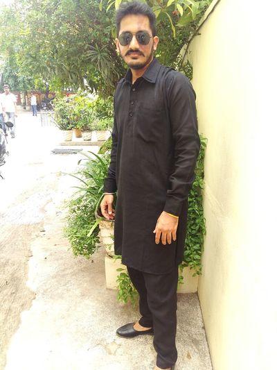 It's Me 😎 🙋 EyeEm Black Dress Up Indian Wear Party College