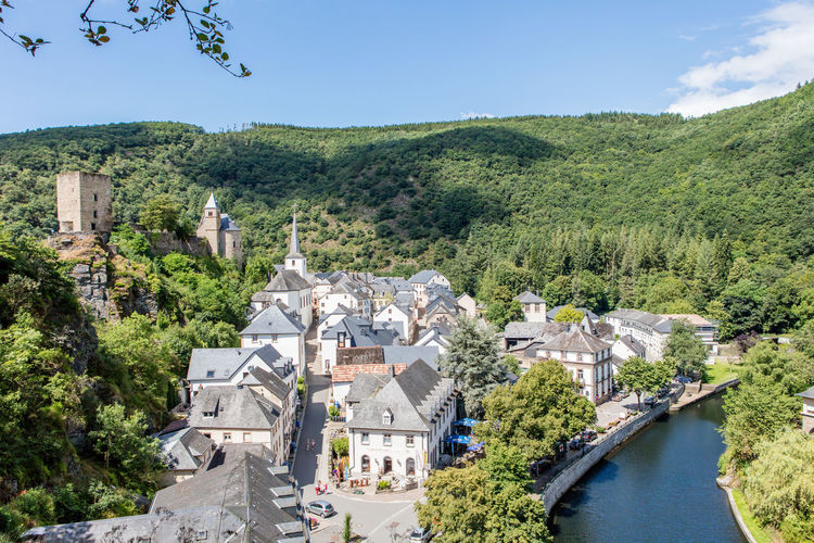 Architecture Castle Day Historic Luxembourg Mountainous Nature Outdoors River Ruins Town