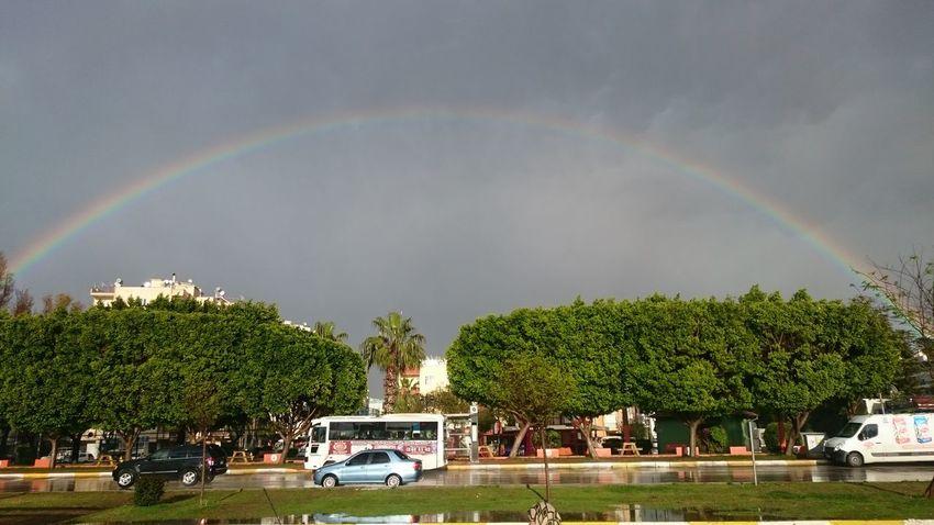 Antalya Turkey Hello World Rainbow Have A Nice Day♥ Sscwashere Imissthisplace