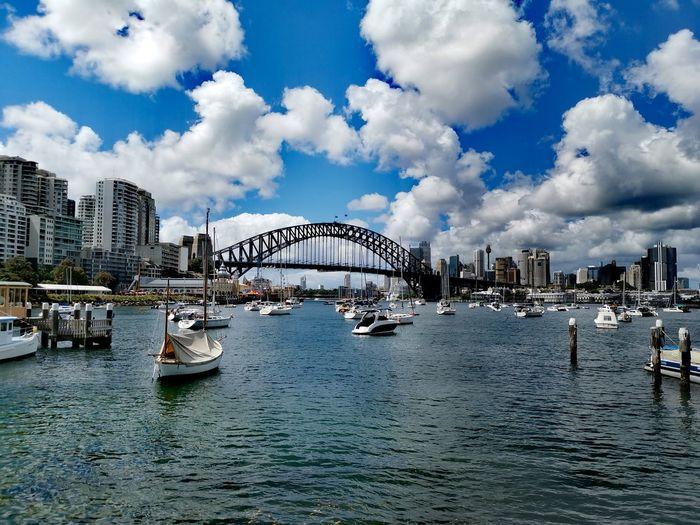 boats, Sydney Australia Sydney Australia City Water Cityscape Sea Urban Skyline Arts Culture And Entertainment Nautical Vessel Sky Architecture Building Exterior