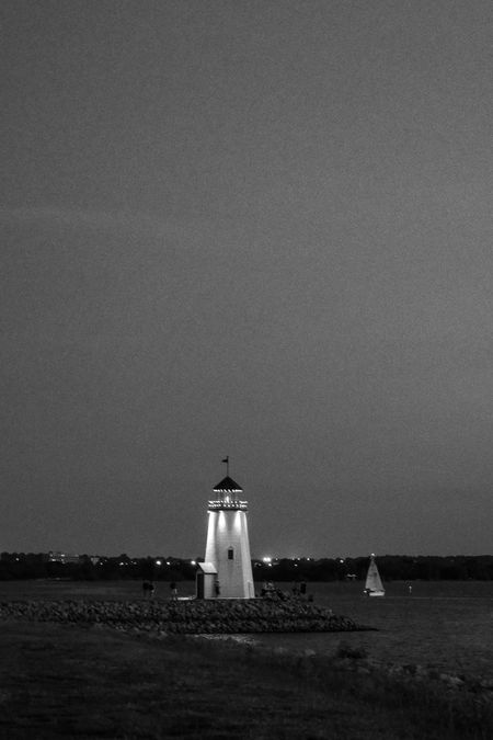 Lighthouse Lighthouse Water Building Exterior Architecture Built Structure Sea Guidance Sky Tower Building Nature No People Travel Destinations Security Travel Direction Safety Outdoors Beach